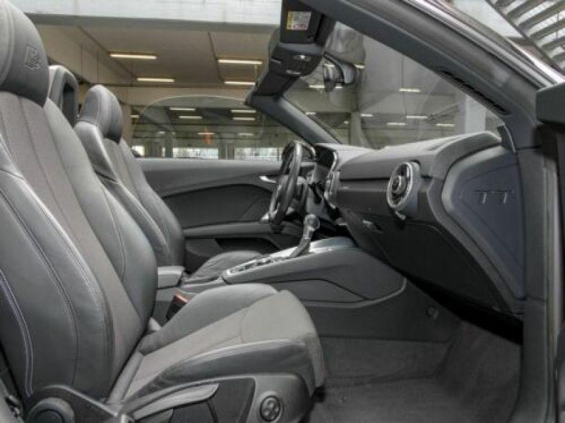 Audi TT roadster 1.8 TFSI 180 S Tronic Noir occasion à Beaupuy - photo n°4