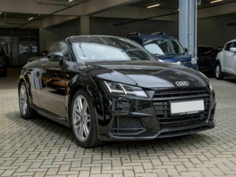 Audi TT roadster 1.8 TFSI 180 S Tronic Noir occasion à Beaupuy