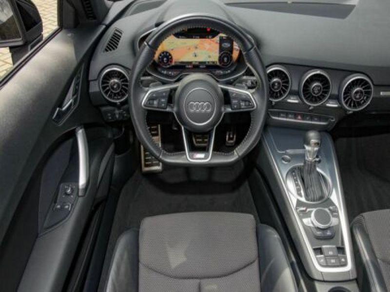 Audi TT roadster 1.8 TFSI 180 S Tronic Noir occasion à Beaupuy - photo n°2