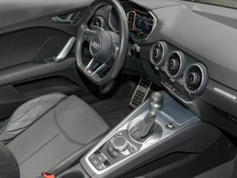 Audi TT roadster 1.8 TFSI 180 S Tronic Noir occasion à Beaupuy - photo n°5