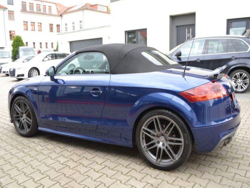 Audi TT roadster 2.0 TDI 170 Quattro Bleu occasion à Beaupuy - photo n°7