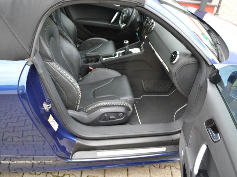 Audi TT roadster 2.0 TDI 170 Quattro Bleu occasion à Beaupuy - photo n°4