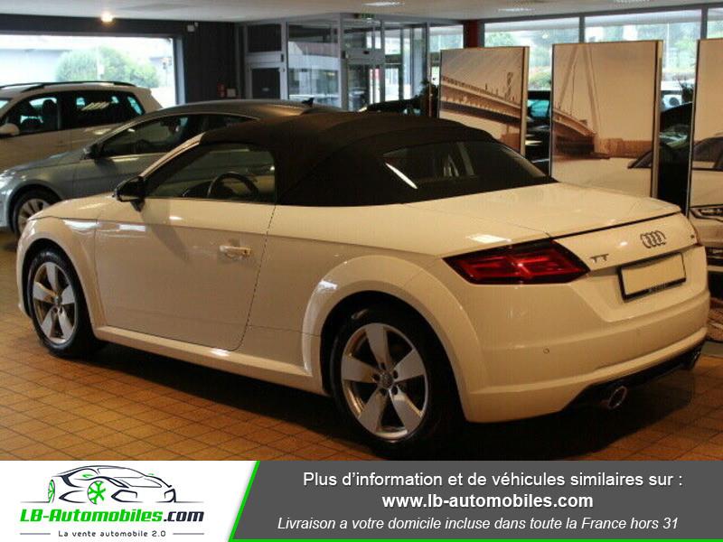 Audi TT roadster 2.0 TDI 184 Blanc occasion à Beaupuy - photo n°3
