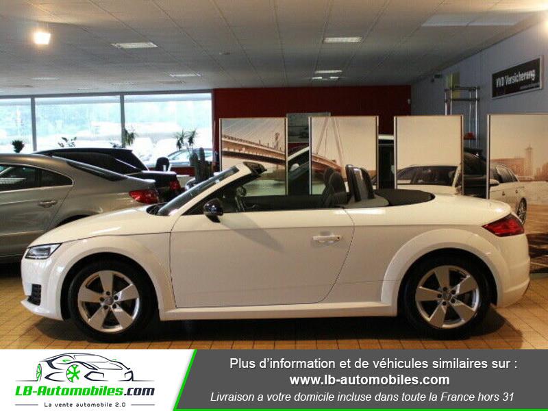 Audi TT roadster 2.0 TDI 184 Blanc occasion à Beaupuy - photo n°4
