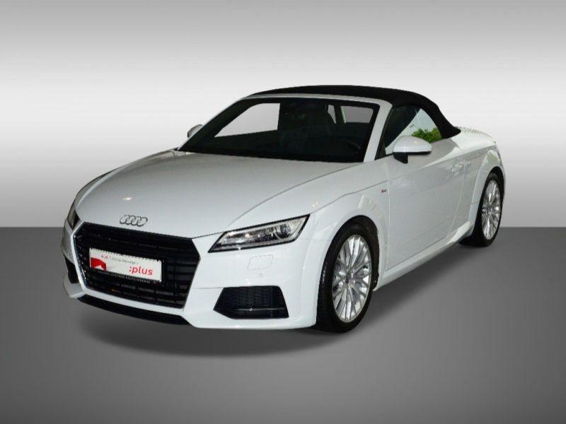 Audi TT roadster 2.0 TFSI 230 Quattro S Tronic S Line Blanc occasion à Beaupuy