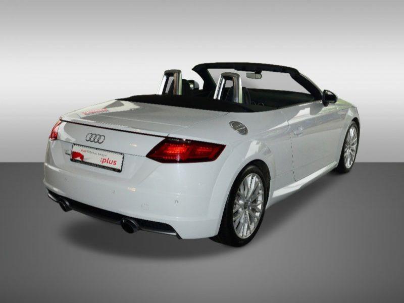 Audi TT roadster 2.0 TFSI 230 Quattro S Tronic S Line Blanc occasion à Beaupuy - photo n°3