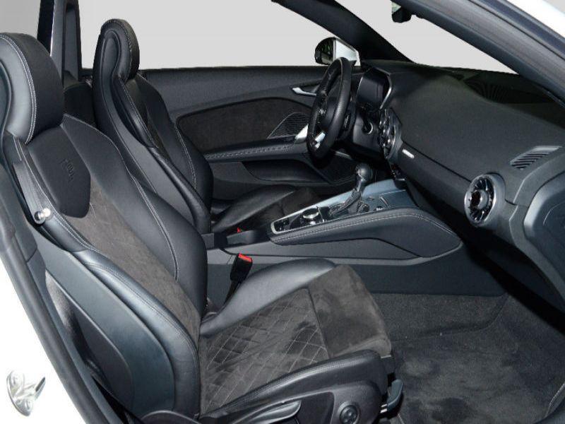 Audi TT roadster 2.0 TFSI 230 Quattro S Tronic S Line Blanc occasion à Beaupuy - photo n°4