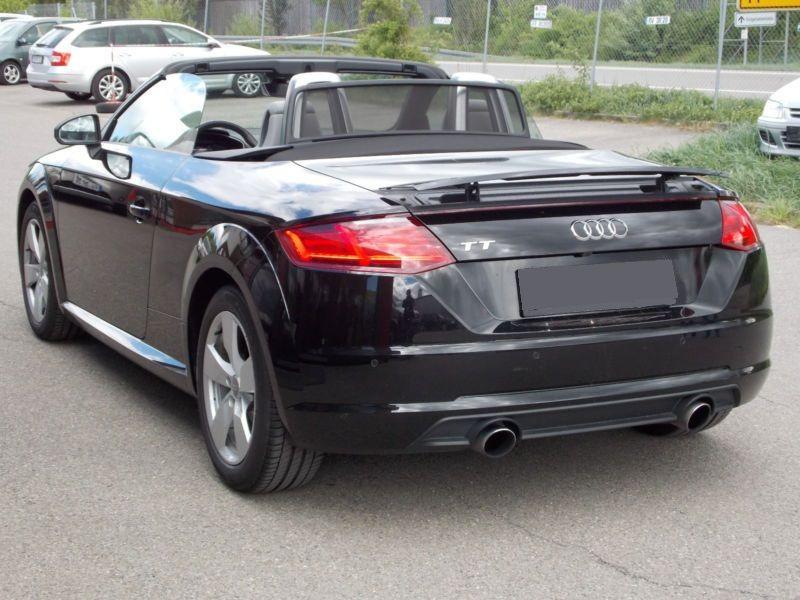 Audi TT roadster 2.0 TFSI 230 Quattro S Tronic Noir occasion à Beaupuy - photo n°3