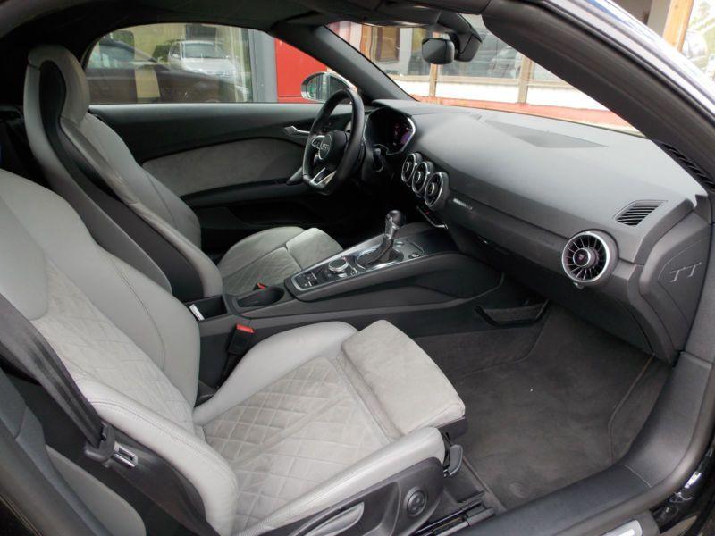 Audi TT roadster 2.0 TFSI 230 Quattro S Tronic Noir occasion à Beaupuy - photo n°4
