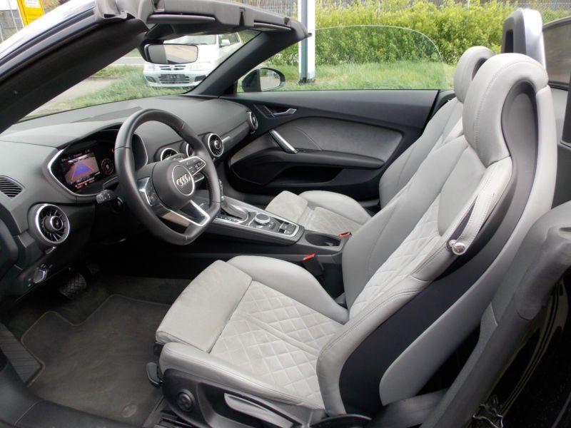 Audi TT roadster 2.0 TFSI 230 Quattro S Tronic Noir occasion à Beaupuy - photo n°2
