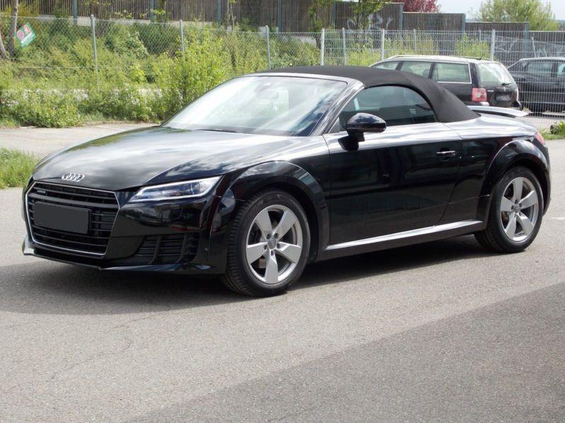 Audi TT roadster 2.0 TFSI 230 Quattro S Tronic Noir occasion à Beaupuy