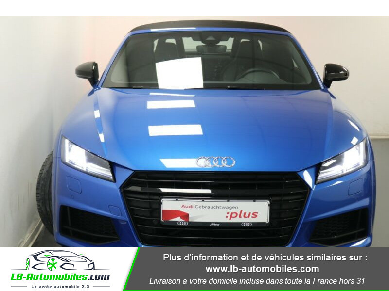 Audi TT roadster 2.0 TFSI 230 / S line Bleu occasion à Beaupuy - photo n°8