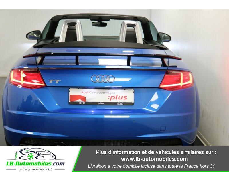 Audi TT roadster 2.0 TFSI 230 / S line Bleu occasion à Beaupuy - photo n°9
