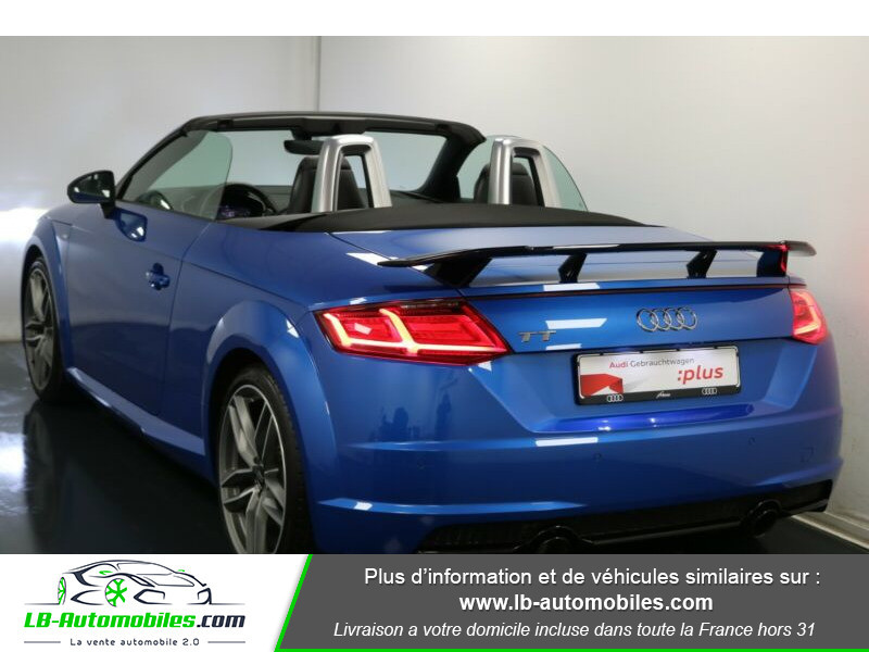 Audi TT roadster 2.0 TFSI 230 / S line Bleu occasion à Beaupuy - photo n°3