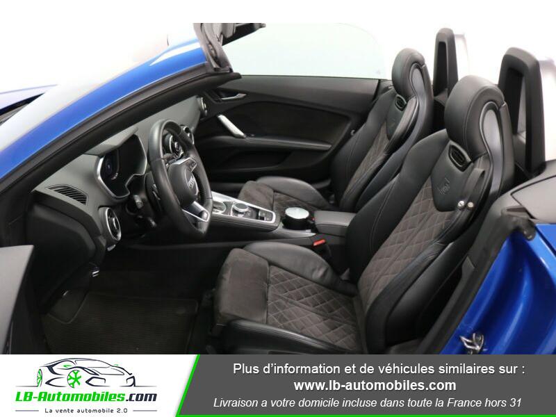 Audi TT roadster 2.0 TFSI 230 / S line Bleu occasion à Beaupuy - photo n°4