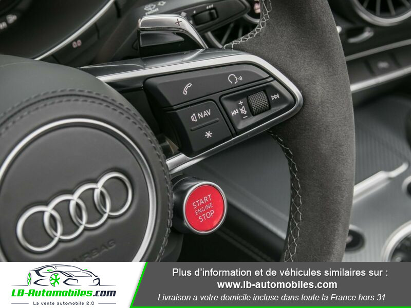 Audi TT roadster RS 2.5 TFSI 400 S tronic 7 Quattro Gris occasion à Beaupuy - photo n°7