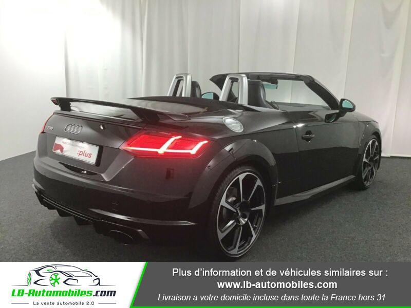 Audi TT roadster RS 2.5 TFSI 400 S tronic 7 Quattro Noir occasion à Beaupuy - photo n°3