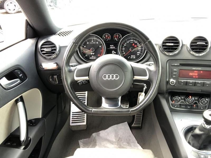 Audi TT 1.8 TFSI 160CH  occasion à Thiverval-Grignon - photo n°8