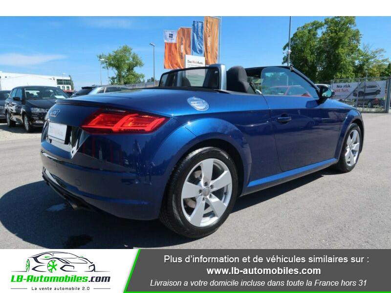 Audi TT 1.8 TFSI 180 S tronic 7 Bleu occasion à Beaupuy - photo n°3