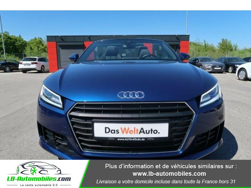 Audi TT 1.8 TFSI 180 S tronic 7 Bleu occasion à Beaupuy - photo n°8