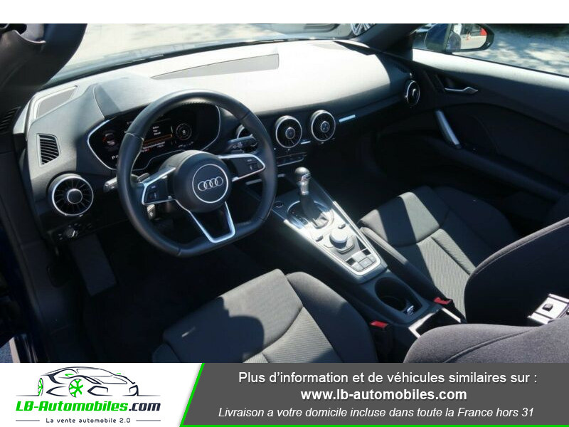 Audi TT 1.8 TFSI 180 S tronic 7 Bleu occasion à Beaupuy - photo n°2