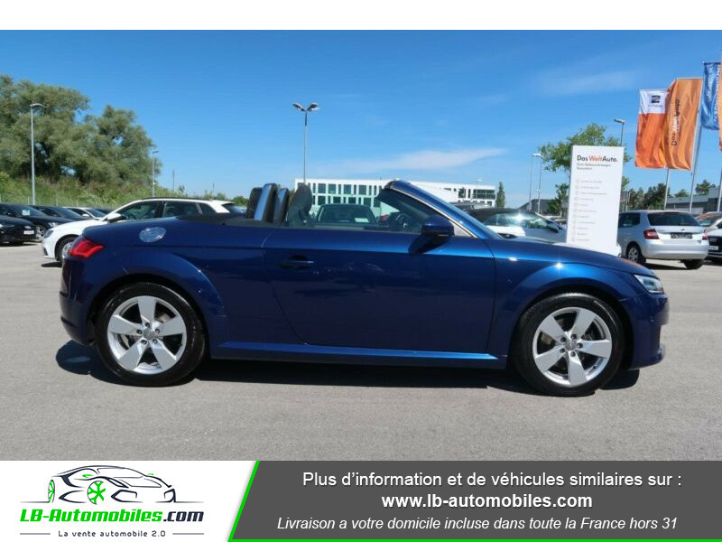 Audi TT 1.8 TFSI 180 S tronic 7 Bleu occasion à Beaupuy - photo n°9