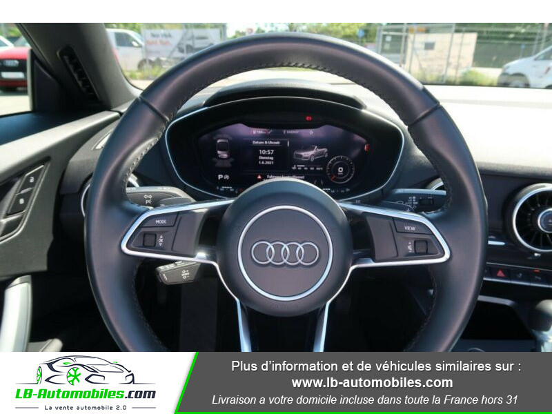 Audi TT 1.8 TFSI 180 S tronic 7 Bleu occasion à Beaupuy - photo n°7