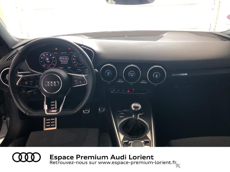 Audi TT 1.8 TFSI 180ch S line Argent occasion à Lanester - photo n°6