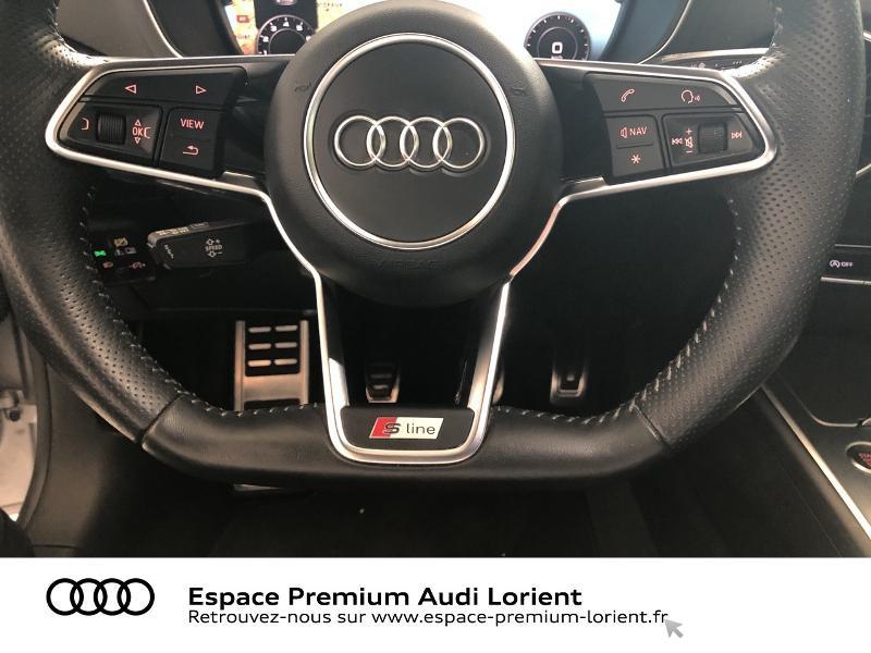 Audi TT 1.8 TFSI 180ch S line Argent occasion à Lanester - photo n°11