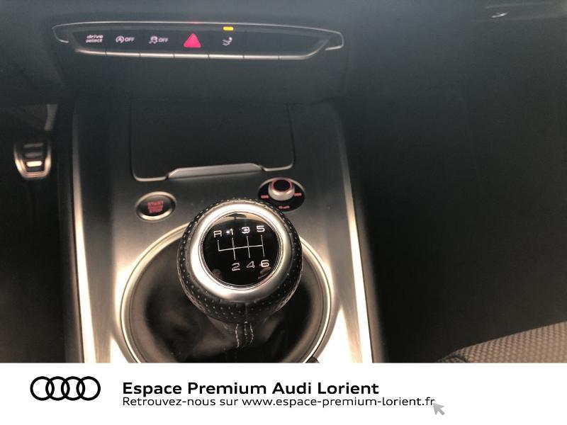 Audi TT 1.8 TFSI 180ch S line Argent occasion à Lanester - photo n°10