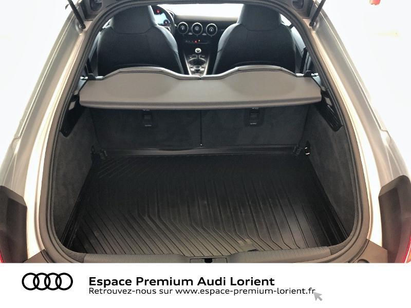 Audi TT 1.8 TFSI 180ch S line Argent occasion à Lanester - photo n°14