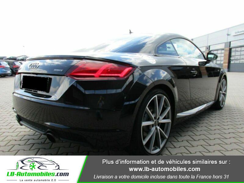Audi TT 2.0 TFSI 230 S-Line Quattro Noir occasion à Beaupuy - photo n°3