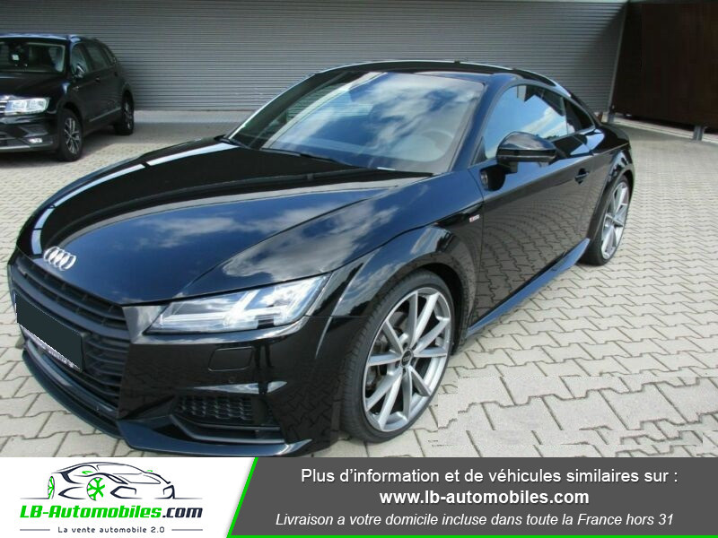 Audi TT 2.0 TFSI 230 S-Line Quattro Noir occasion à Beaupuy - photo n°5