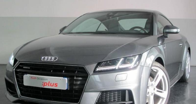 Audi TT 2.0 TFSI 230ch S line quattro S tronic 6 Gris occasion à Chambourcy