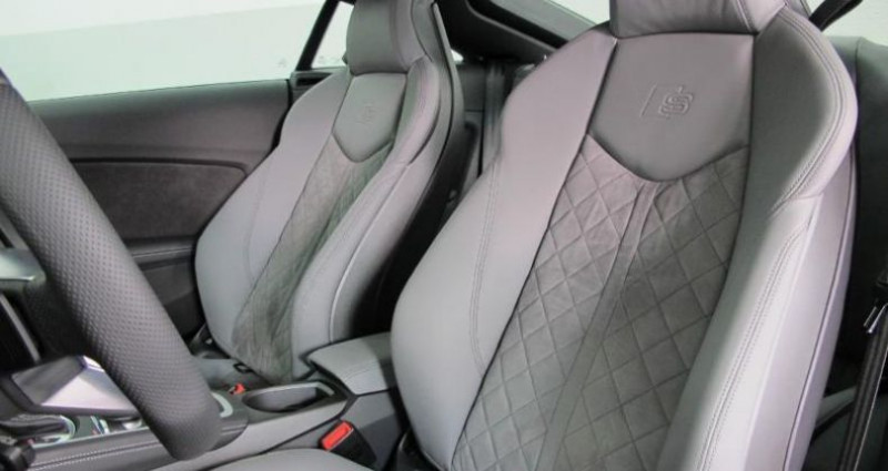 Audi TT 2.0 TFSI 230ch S line quattro S tronic 6 Gris occasion à Chambourcy - photo n°4