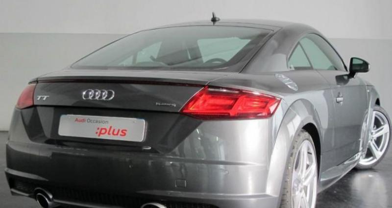 Audi TT 2.0 TFSI 230ch S line quattro S tronic 6 Gris occasion à Chambourcy - photo n°7
