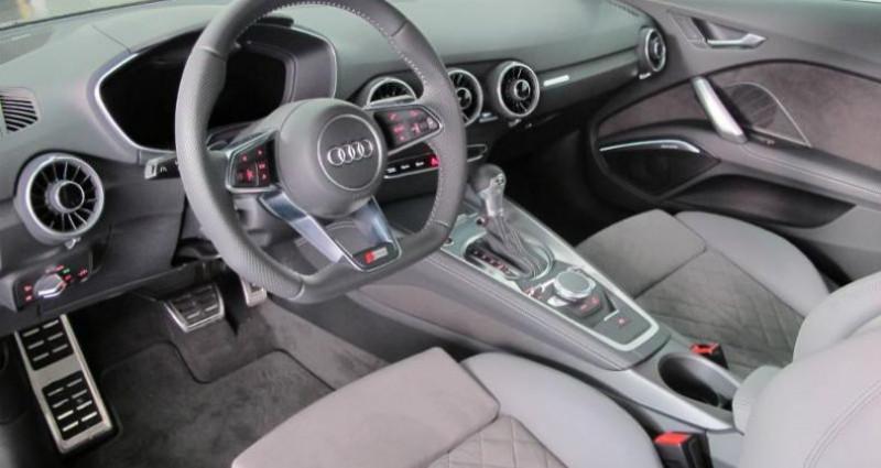 Audi TT 2.0 TFSI 230ch S line quattro S tronic 6 Gris occasion à Chambourcy - photo n°6