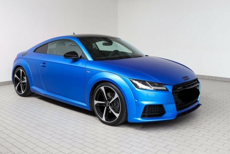 Audi TT 2.0 TFSI 230CH S LINE QUATTRO S TRONIC 6 Bleu occasion à Villenave-d'Ornon