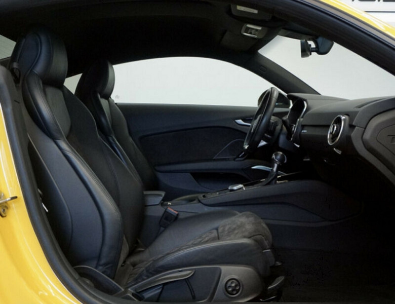 Audi TT 2.0 TFSI 230CH S LINE QUATTRO S TRONIC 6 Jaune occasion à Villenave-d'Ornon - photo n°5