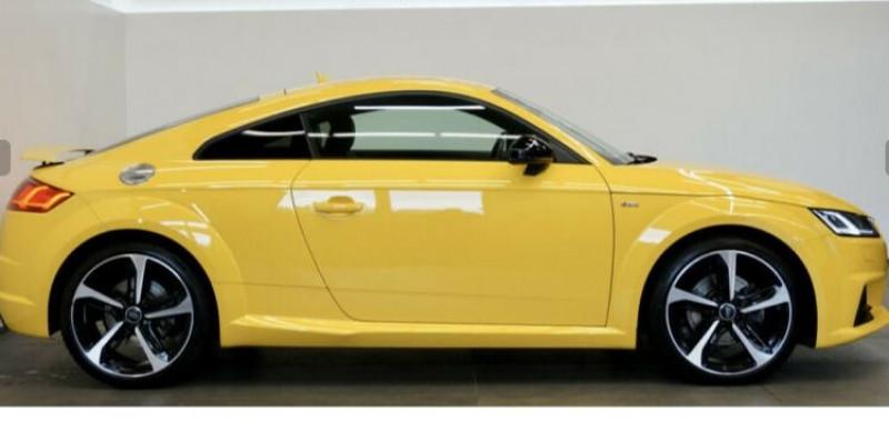 Audi TT 2.0 TFSI 230CH S LINE QUATTRO S TRONIC 6 Jaune occasion à Villenave-d'Ornon - photo n°4