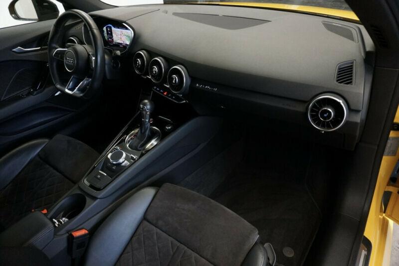Audi TT 2.0 TFSI 230CH S LINE QUATTRO S TRONIC 6 Jaune occasion à Villenave-d'Ornon - photo n°6