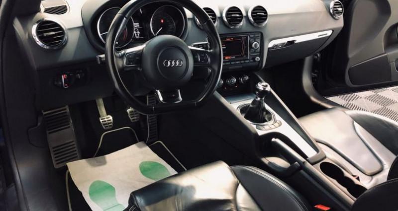 Audi TT 2.0 tfsi 272 ch boite manu Noir occasion à Saint-Romain-de-Jalionas - photo n°6