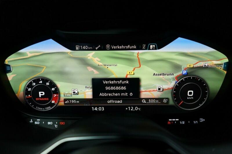 Audi TT 2.0 TFSI 306CH QUATTRO S TRONIC 7 EURO6DT Gris occasion à Villenave-d'Ornon - photo n°8