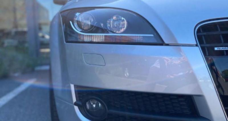 Audi TT 3.2 V6 250CH S LINE QUATTRO S TRONIC 6 Gris occasion à Grezac - photo n°2