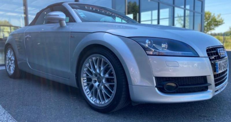Audi TT 3.2 V6 250CH S LINE QUATTRO S TRONIC 6 Gris occasion à Grezac - photo n°6