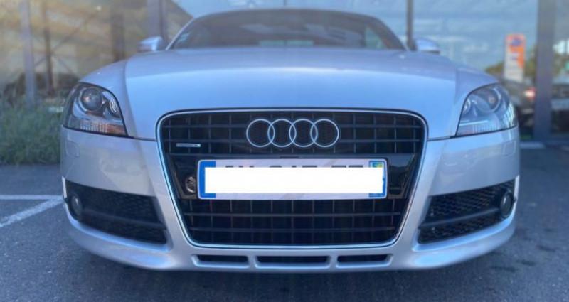 Audi TT 3.2 V6 250CH S LINE QUATTRO S TRONIC 6 Gris occasion à Grezac - photo n°3