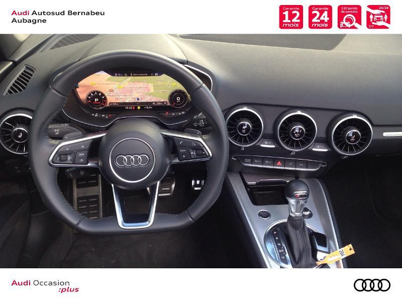 Audi TT 45 TFSI 245ch quattro S tronic 7 Argent occasion à Aubagne - photo n°6