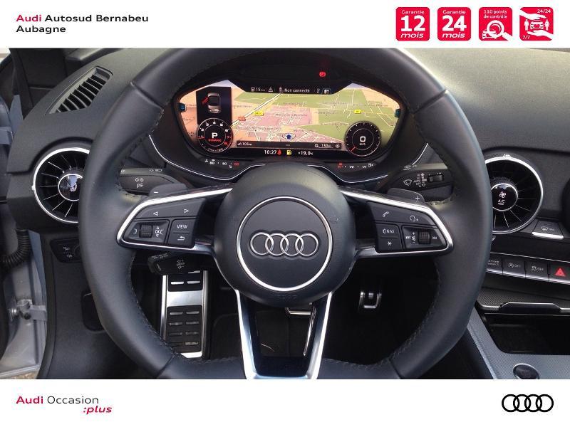 Audi TT 45 TFSI 245ch quattro S tronic 7 Argent occasion à Aubagne - photo n°7
