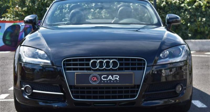Audi TT Cabriolet 2.0 TFSI 200ch S-Line Boite Auto Noir occasion à ANTIBES - photo n°2