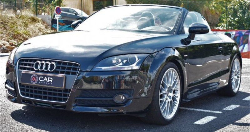 Audi TT Cabriolet 2.0 TFSI 200ch S-Line Boite Auto Noir occasion à ANTIBES